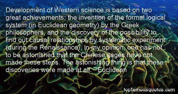 Euclidean Quotes