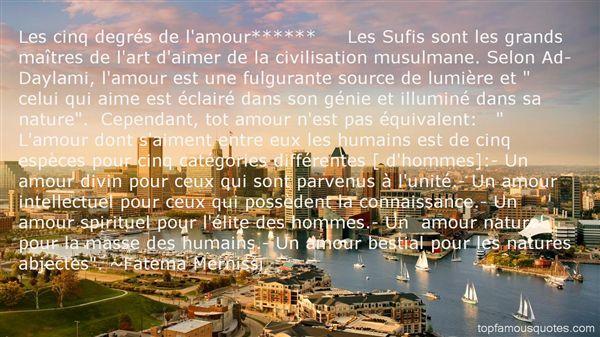 Fatema Mernissi Quotes