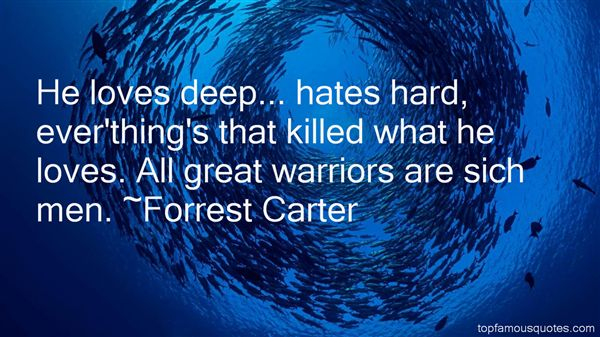 Forrest Carter Quotes