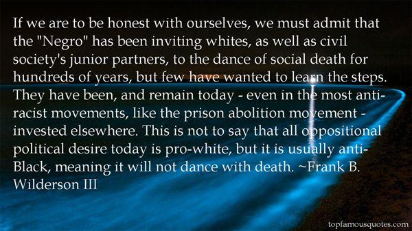 Frank B. Wilderson III Quotes