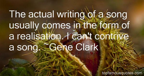 Gene Clark Quotes