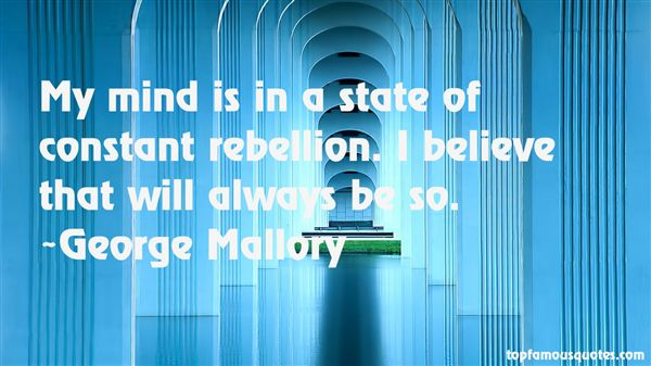 George Mallory Quotes