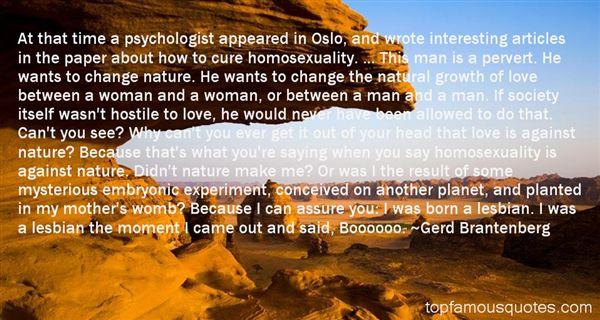 Gerd Brantenberg Quotes