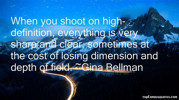 Gina Bellman Quotes