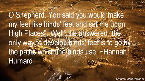Hannah Hurnard Quotes