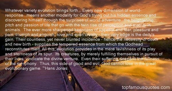 Hans Jonas Quotes