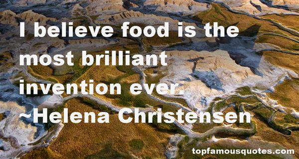 Helena Christensen Quotes