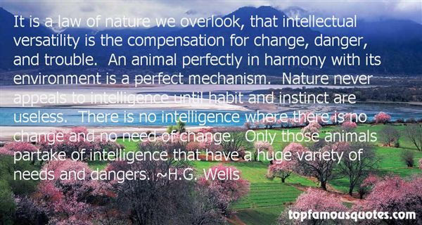 H.G. Wells Quotes