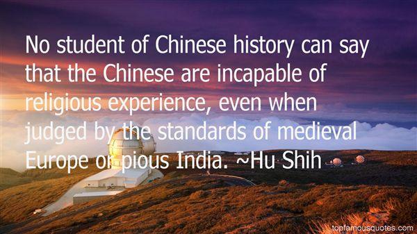 Hu Shih Quotes