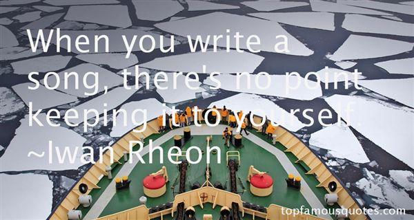 Iwan Rheon Quotes