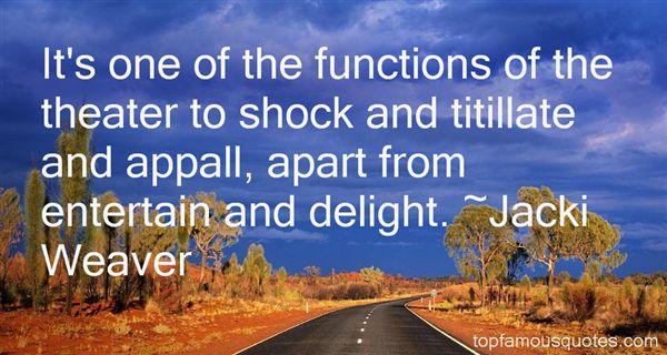 Jacki Weaver Quotes