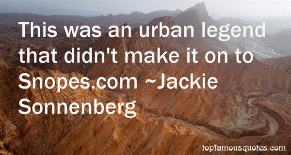 Jackie Sonnenberg Quotes