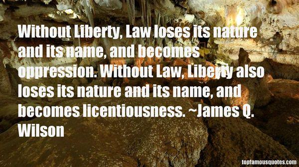 James Q. Wilson Quotes