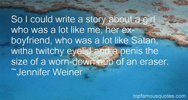 Jennifer Weiner Quotes