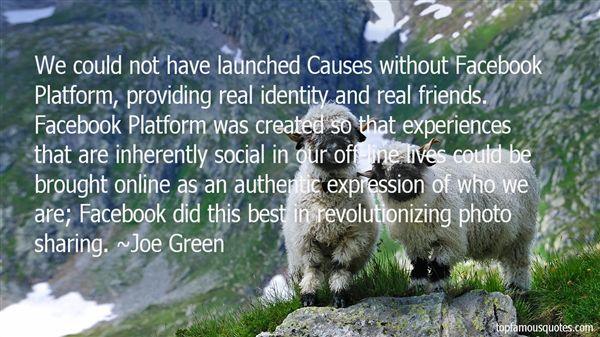 Joe Green Quotes