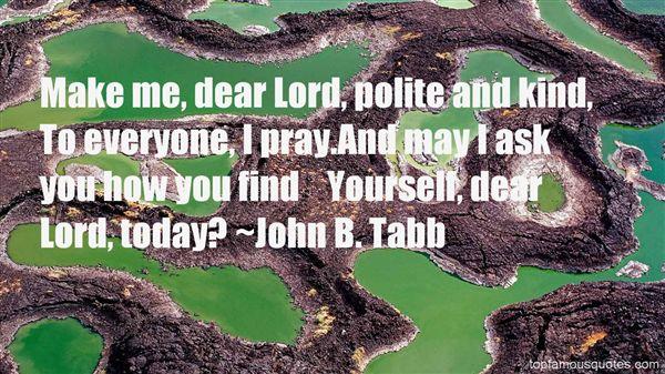 John B. Tabb Quotes