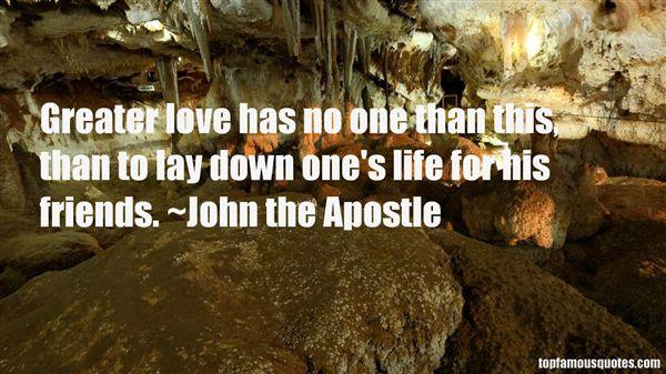 John The Apostle Quotes