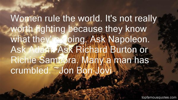Jon Bon Jovi Quotes Top Famous Quotes And Sayings By Jon