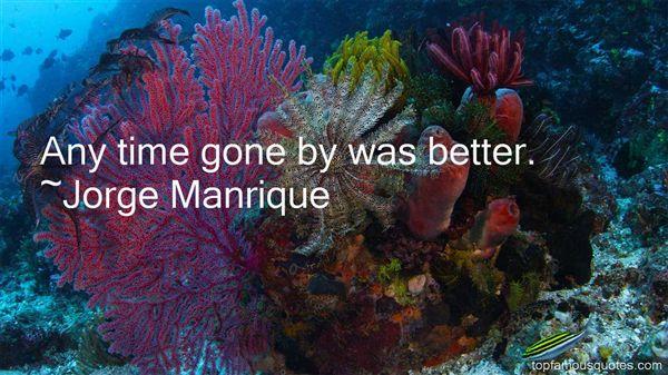 Jorge Manrique Quotes
