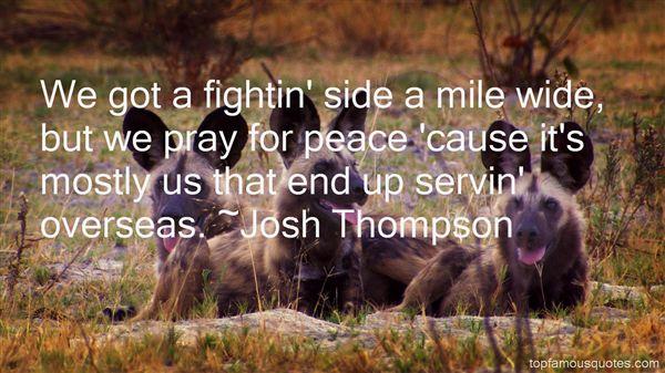 Josh Thompson Quotes
