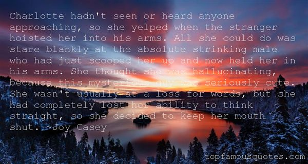 Joy Casey Quotes