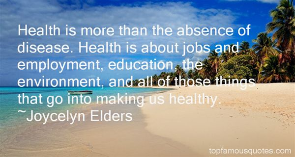 Joycelyn Elders Quotes