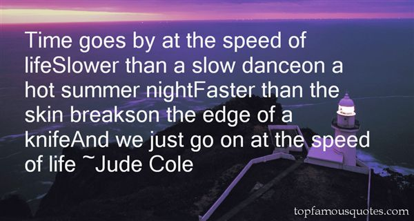 Jude Cole Quotes