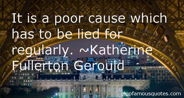 Katherine Fullerton Gerould Quotes
