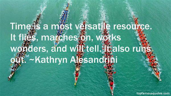 Kathryn Alesandrini Quotes