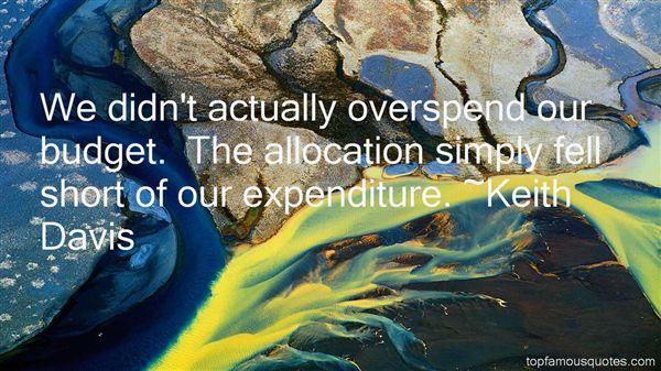 Keith Davis Quotes