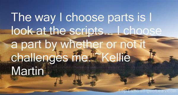 Kellie Martin Quotes