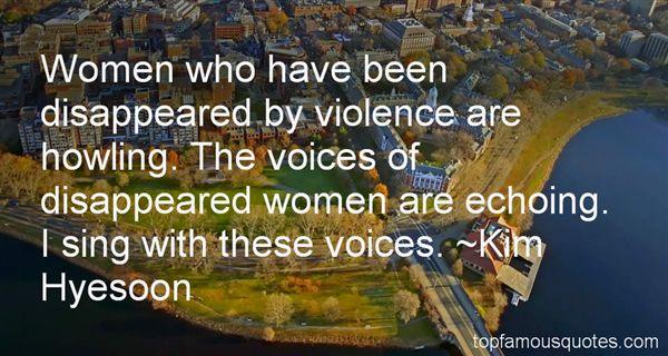 Kim Hyesoon Quotes