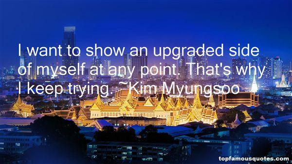 Kim Myungsoo Quotes