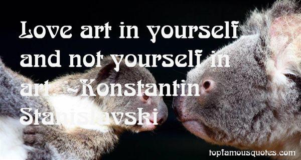 Konstantin Stanislavski Quotes