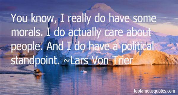 Lars Von Trier Quotes