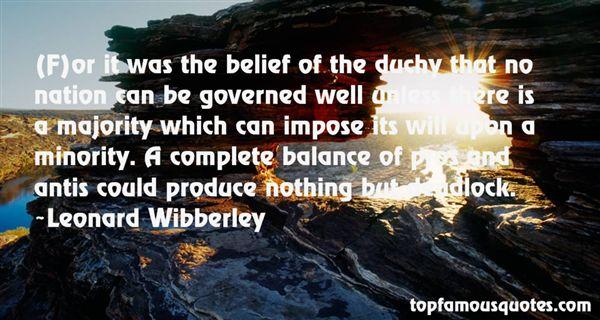 Leonard Wibberley Quotes