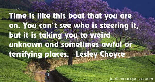 Lesley Choyce Quotes
