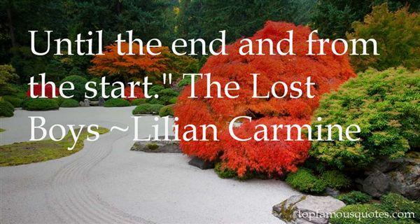 Lilian Carmine Quotes