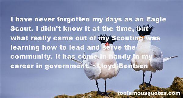 Lloyd Bentsen Quotes