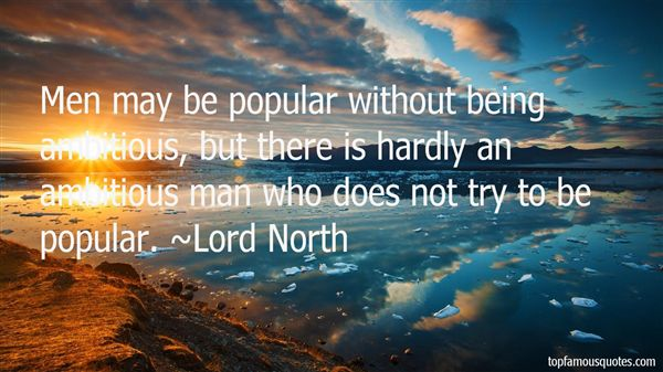 Lord North Quotes