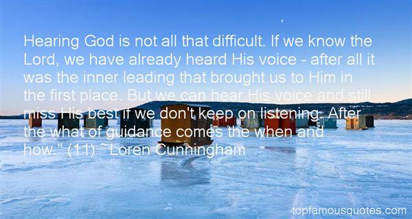 Loren Cunningham Quotes
