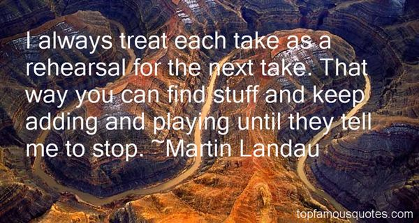 Martin Landau Quotes