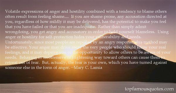 Mary C. Lamia Quotes