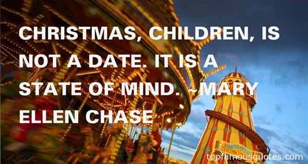 Mary Ellen Chase Quotes