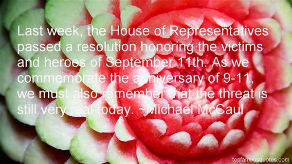 Michael McCaul Quotes