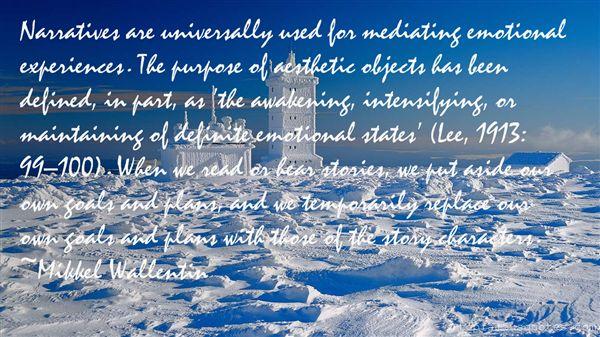 Mikkel Wallentin Quotes