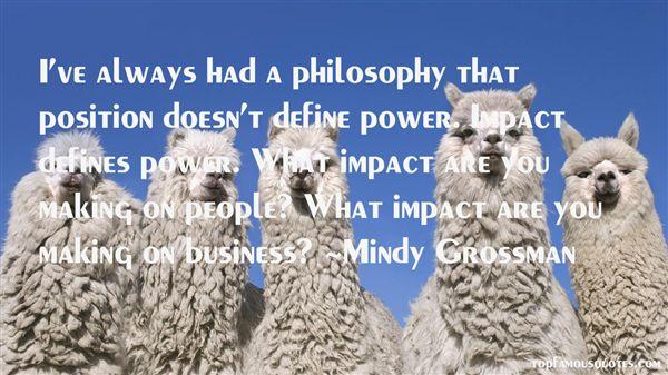 Mindy Grossman Quotes