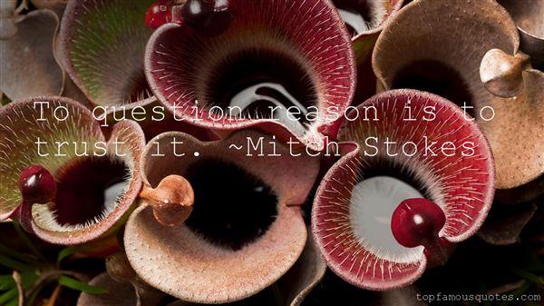 Mitch Stokes Quotes