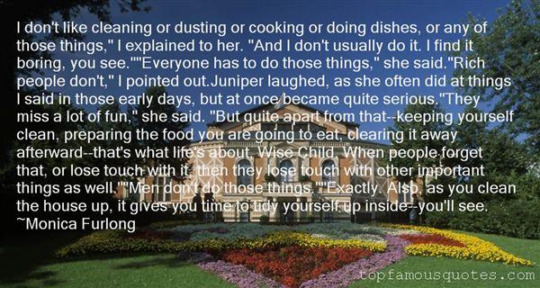 Monica Furlong Quotes