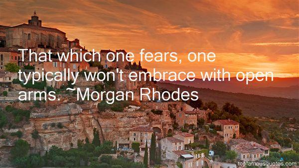 Morgan Rhodes Quotes